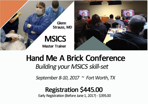MSICS Training - 2017